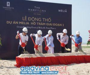 Lễ khởi công dự án Melia Hồ Tràm giai đoạn 2