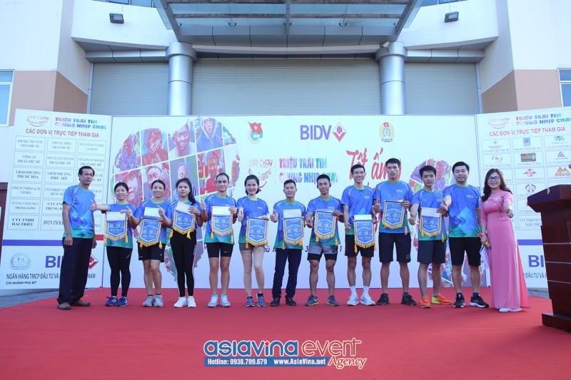 Giải Chạy Nụ Cười BIDV , Tết Ấm Cho Người Nghèo