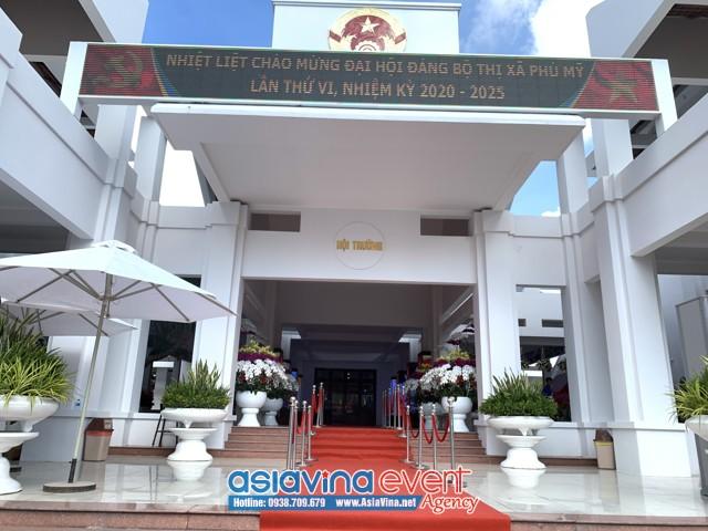 Đại hội Đại biểu Đảng bộ Thị Xã Phú Mỹ lần thứ VI, nhiệm kỳ 2020-2025