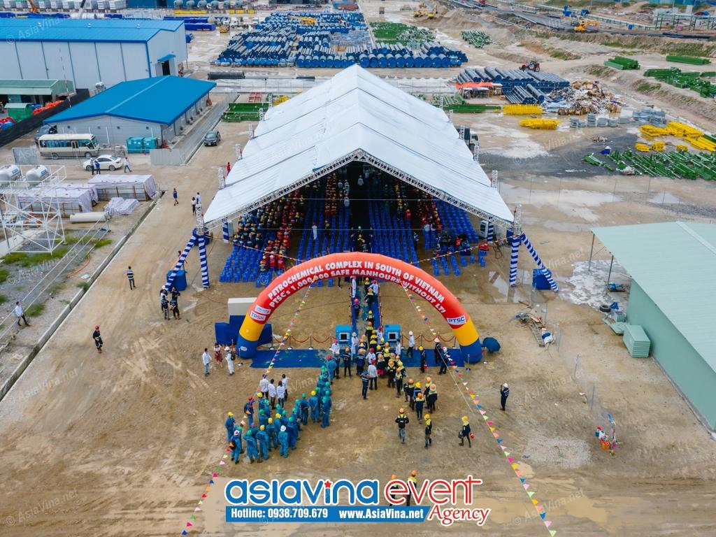 Lễ chào mừng 1 triệu giờ làm việc an toàn của PTSC tại dự án LSP, gói thầu A1 – Nhà máy olefins